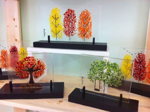 Zelda's Fine Arts - Fused Glass Art  Boulevard 34 Gift Shop - Montrose, CA
