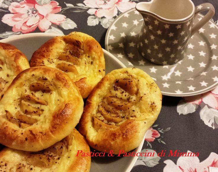 Pasticci & Pasticcini di Mimma: Danesi con mele e crema pasticcera