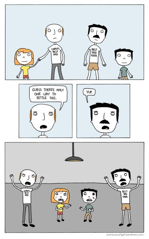 Hahahaha!!: Funny Pics, Feelgood Boards, Comic, Dads Eva, Funny Stuff, Funny Funfun, Funny Photos, So Funny, Settle Things