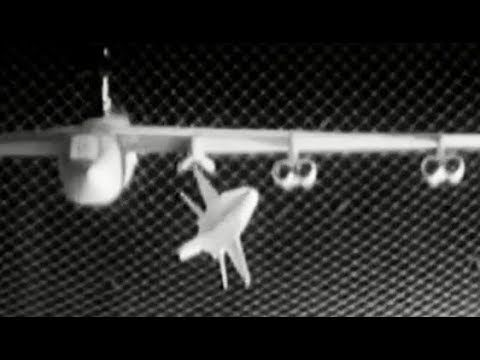 X-15 Drop Test from B-52 in Wind Tunnel (Models) 1959 NASA Langley Research Center https://www.youtube.com/watch?v=y_Vp3BscEfM #Xplane #aviation #engineering