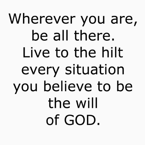 If God is For Us...: Enthusiasm