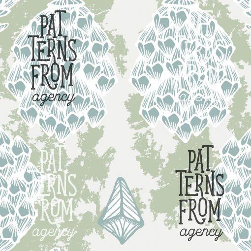 Ilana Vähätupa: Metsä – Latvus #patternsfromagency #patternsfromfinland #pattern #patterndesign #surfacedesign #printdesign #ilanavahatupa