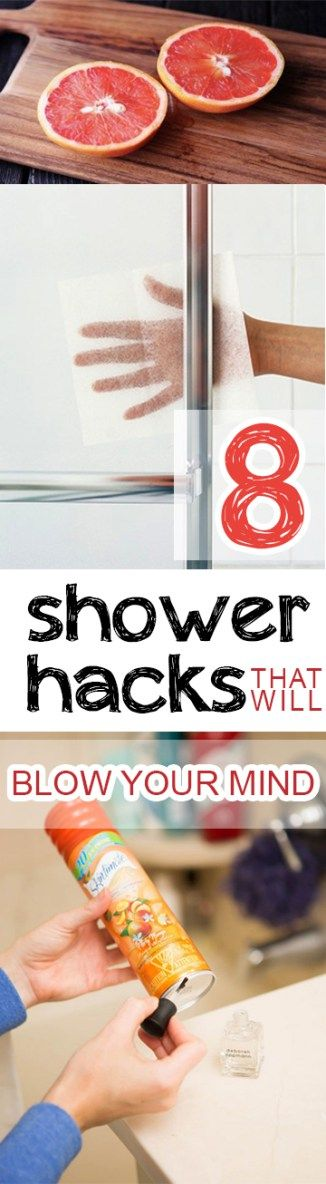 8 Shower Hacks That Will Blow Your Mind