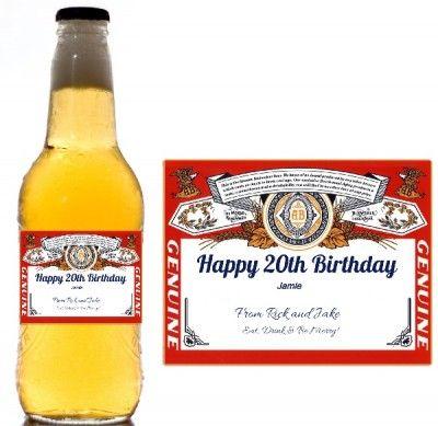 Create free custom beer labels. Great DIY gift!