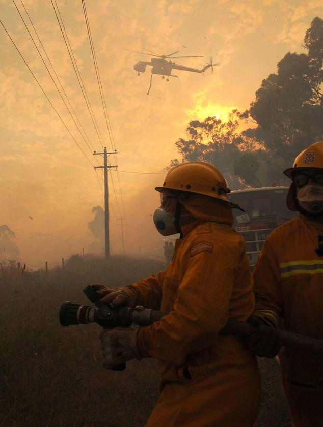 Black Saturday Bushfires, Victoria Feb 7th 2009