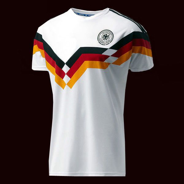 Fifa World Cup 1990 Germany Jersey Replica All Sizes Ebay