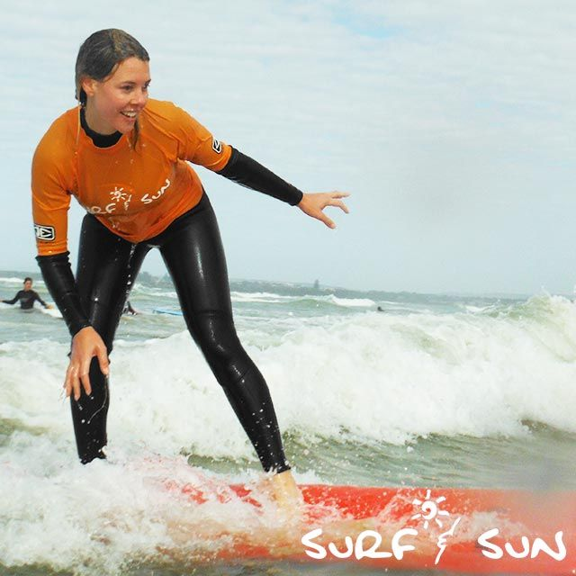 Our surf lessons are all about having fun!