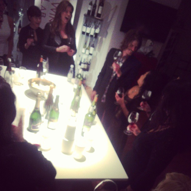 This is exactly how it is supposed to be at #stockholmWineLab . You should drink great #wine and you should be happy!