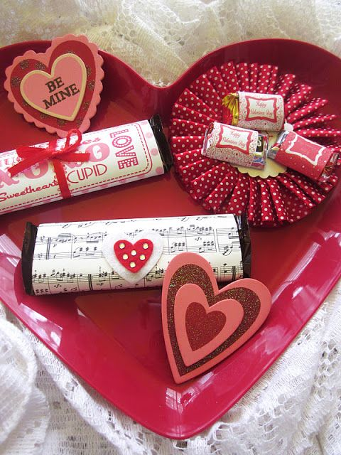 valentine's day candy bar letter