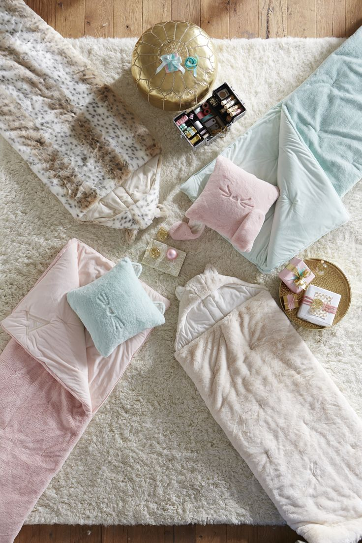 Or sleeping bags clothes pegs optional fairy lights optional - Throw The Ultimate Sleepover With Soft Sleeping Bags Plus Fun Accessories