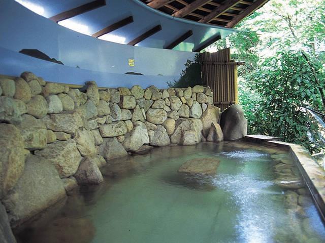 Hot spring, named Sanuki- onsen in Sanuki city in Kanagawa pref.