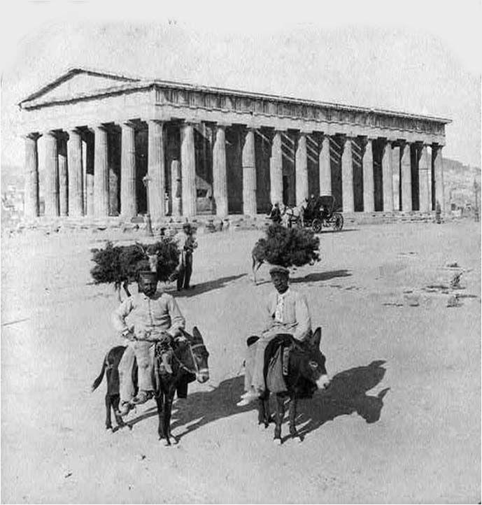 Theseum,  Athens, c. 1860's