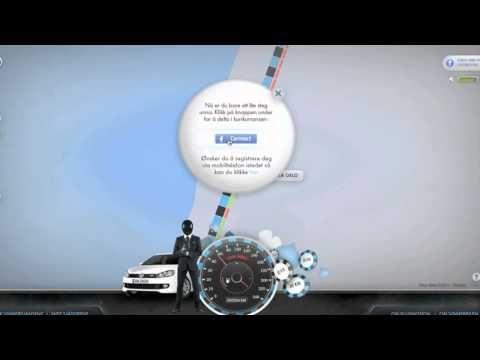 Nice digital lottery around VW bluemotion low consumption