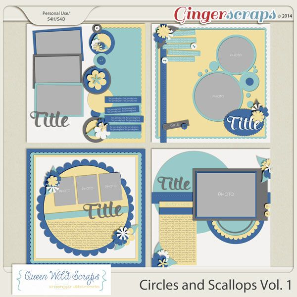 Circles and Scallops Vol. 1