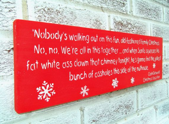 Hey, I found this really awesome Etsy listing at https://www.etsy.com/listing/200746941/christmas-decoration-funny-clark
