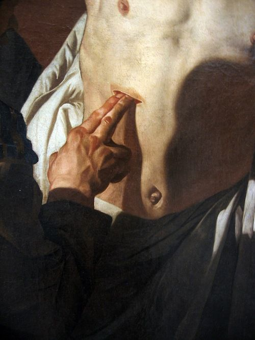 Gerrit Van Honthorst, The Incredulity of St Thomas, 1620. T2: I've always