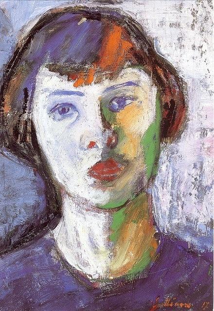 Tyko Sallinen - Nuori Amerikatar (1917)