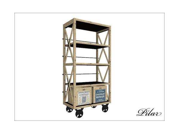 Pilar : Retro Shelf