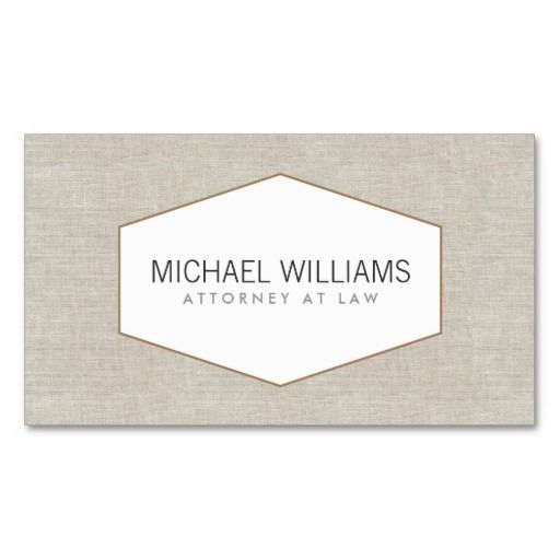 10 best business cards for accountants images on pinterest vintage emblem on tan linen faux business card wajeb Choice Image