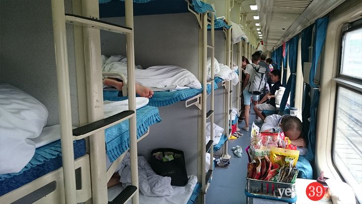 Guilin to Shanghai Overnight Train | Mark Baker – Year 39