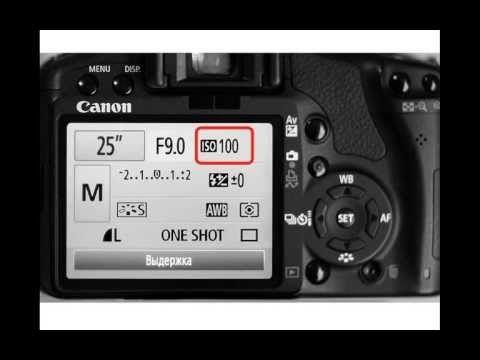 Уроки фотографии: Урок 1. Настраиваем камеру. - YouTube