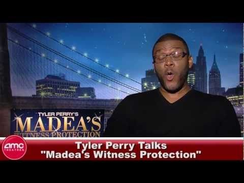 Tyler Perry Talks Madea's Witness Protection