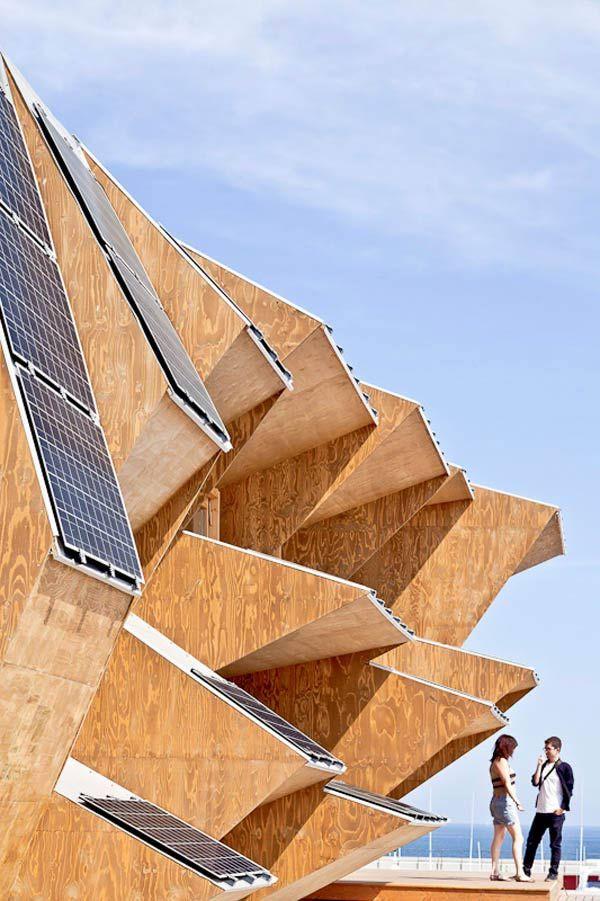 Endesa Solar Pavilion, Barcelona, Spain | See More Pictures