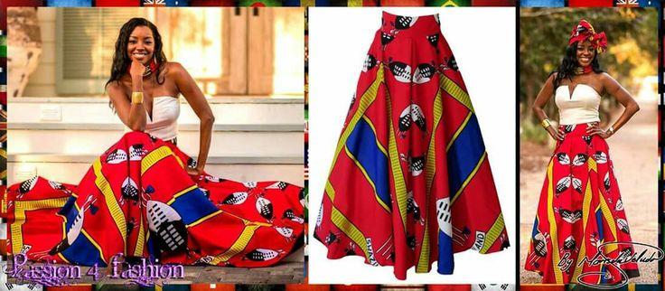 Swati red flowy long skirt. #mariselaveludo #fashion #traditionalwear #passion4fashion #traditionalskirt #swati #swatiskirt