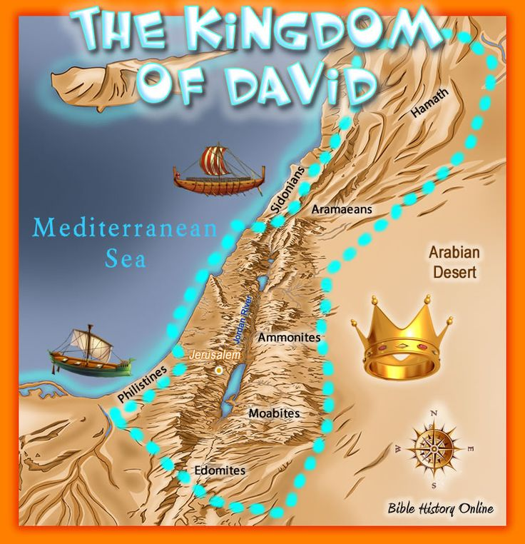 """The Kingdom of David from the River of Egypt to the Great Euphrates.   Genesis 15:18 """"On the same day the LORD made a covenant with Abram, saying: """"To your descendants I have given this land, from the River of Egypt to the great river, the River Euphrates…"""""""