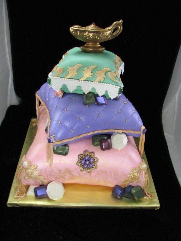 17 best images about aladdin jasmine party on pinterest for Arabian cake decoration