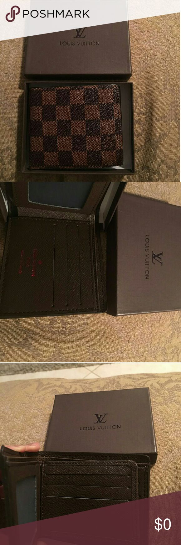 Wallet for men Wallet let me know if you are interested for men Louis Vuitton Accessories Watches