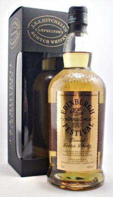 Collectors Corner Springbank Edinburgh International Festival 2007 Blended Scotch Whisky 40% 70cl