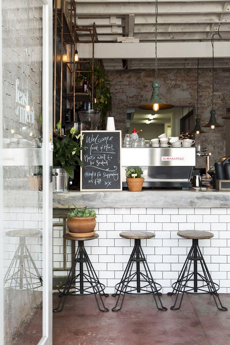 Guia design // Um restaurante com ares fabris e estética vintage e descolada em Melbourne. – DecouvrirDesign