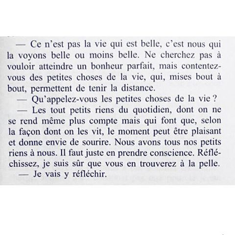 [Juste avant le bonheur - Agnès Ledig] #FrenchQuote#Quote#Citation