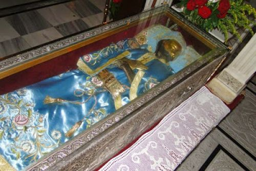 MYSTAGOGY: The Miracle of the Changing of the Vestments of St. John the Russian, Evia Island, Greece