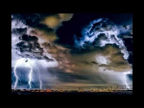 Massive Thunderstorm Relaxing White Noise Sounds Of Heavy Rain 2 Hours - YouTube