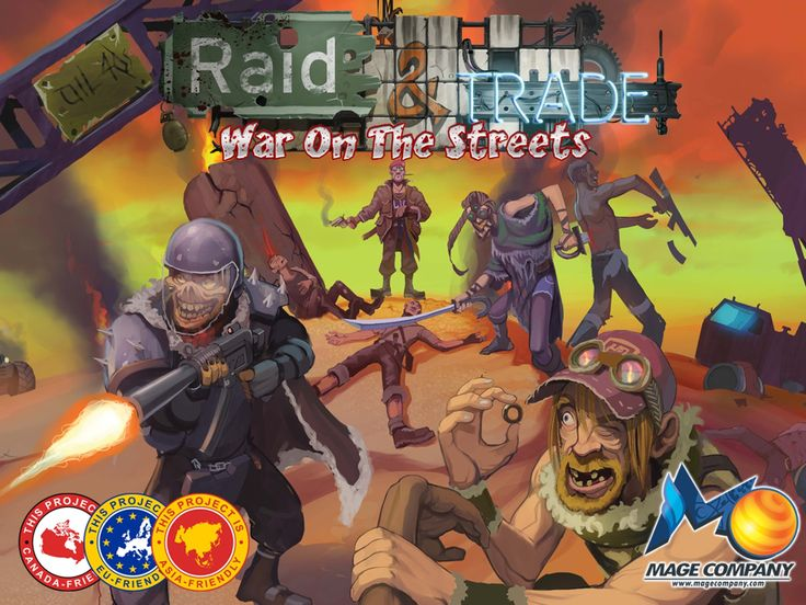 An enemy is rising... gangs, and outlanders exiled from the ruined city. Equip, Craft, Raid & Trade. This is War on the Streets!