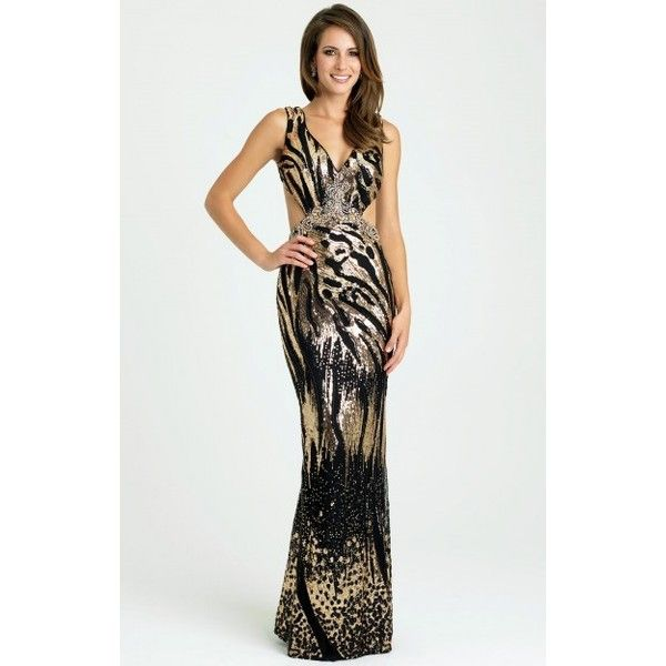 Animal Print Dresses ❤ liked on Polyvore featuring dresses, plus size cocktail dresses, white prom dresses, white cocktail dress, long evening dresses and plus size white dress