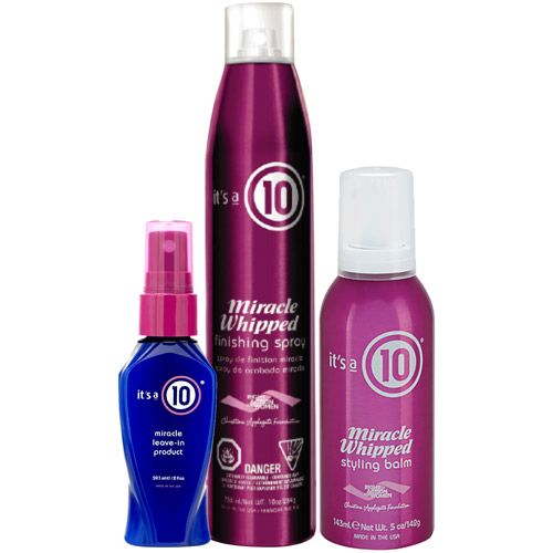 Image of It's a 10 Whipped Styling Trio