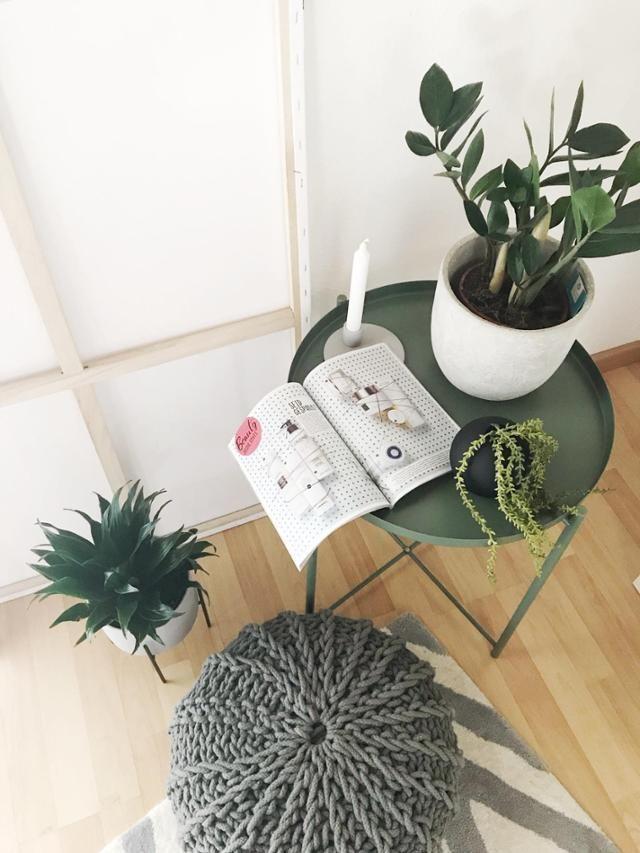 beistelltisch schon dekoriert mehr ideen findest du auf couchstyle de urbanjungle