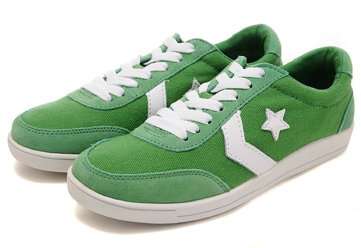 """Converse Shoes Canada""- mens and womens Converse Pro Star shoes green"