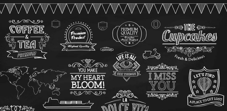 Today's free design resource Chalk Vector Elements comes from Webdesignerdepot.Its'been designed by Vectoropenstock.This freebie includes 100+ chalk designs, featuring badges, ribbons and labels, coffee and bakery emblems, love emblems, inspirational badges, and infographic elements. The files are s…