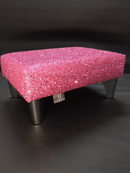 pink glitter, glitter furniture, glitter fabric, upholstery | The Glitter Furniture Company®