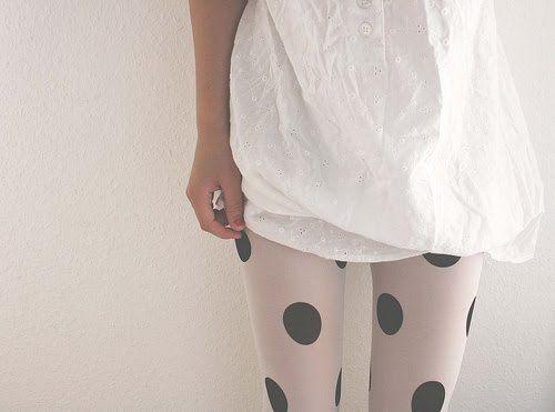 Polka dot tights: Polka Dot Tights, Fashion, Style, Clothing, Polkadot, Posts, Polka Dots Tights, The Dots, Big Dots