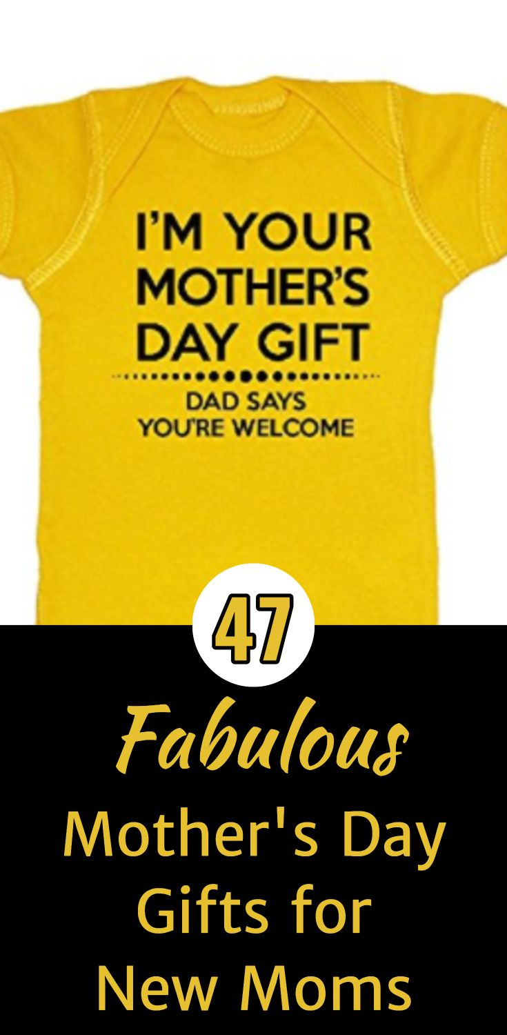 Mother's Day Gifts for New Moms - Find a fabulous first Mother's Day gift!