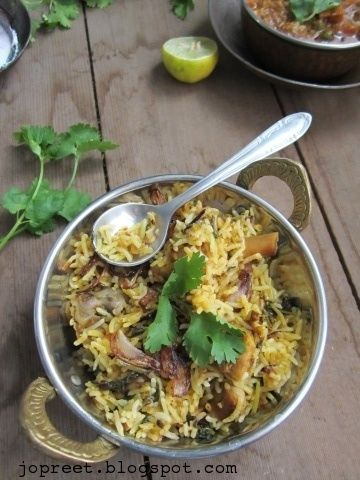 Andhra Chicken Pulao The original recipe calls for 4-5 dry red chilies, but i have reduced the quantity and also modified f....