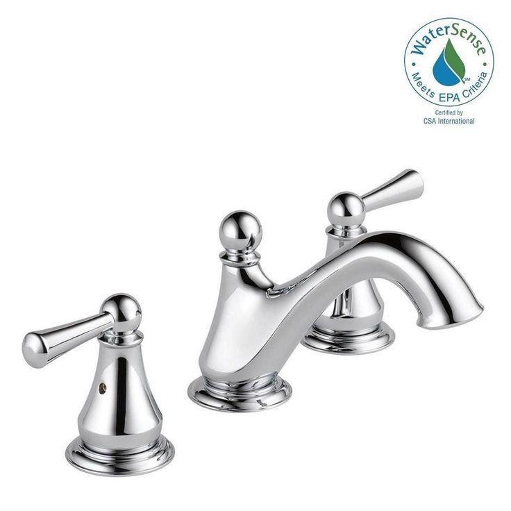 Delta Haywood 8 In Widespread 2 Handle Bathroom Faucet In
