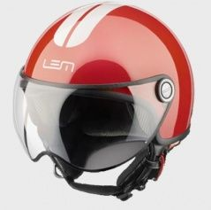 Kask Roger Red & White