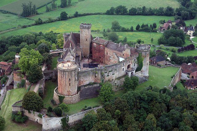 Chateau de Castelnau - Bretenoux, Lot, Midi-Pyrenees