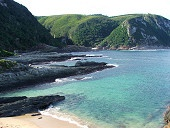 Tsitsikamma National Park:  The Tsitsikamma National Park is Africa's oldest, largest and most beautiful Marine Reserve. This makes the Tsitsikamma the country's prime Eco Tourism destination. Adventure seekers will revel in the diverse range of activities.